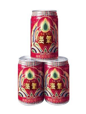 【西藏和藤】海氧牌玫瑰饮料 3罐装