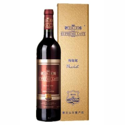【总统之爱】梅鹿辄干红葡萄酒 750ml