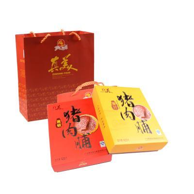 【真美】原味猪肉脯 420g*2 高档礼盒装
