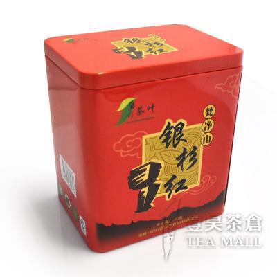 银杉 梵净山银杉红 二级红茶 240g/盒